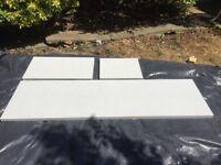 Diamond white maxtop kitchen worktop pieces