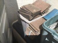 New/unused Marley Flat And Corner Tiles