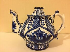 Unique Russian tea pot for sale