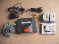 N64 Nintendo 64 Console, Controller & 9 Games