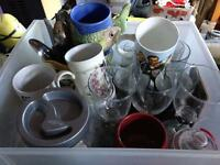 Free Cups Glasses & Utensils. Leeds 9