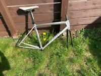 TCR medium frame forks and seat