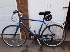 Hybrid pedal bike, Ridgeback Velocity,