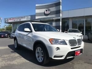 2014 BMW X3 XDrive 28i Fully Loaded Only 75, 000KM