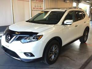 2016 Nissan Rogue SL / AWD / CUIR / GPS LIKE NEW