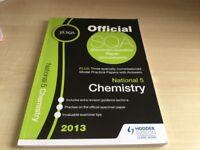3 National 5 Chemistry study books
