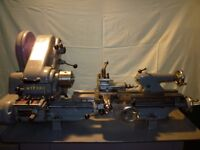 Myford Lathe Super Seven B with stand