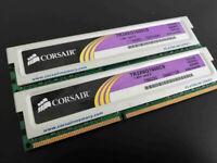 RAM PC DDR3 4GB (2x2GB) PC3-12800 1600MHz Corsair XMS3