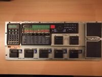 DIGITECH GNX4 guitar effects with built in recorder and drum machine