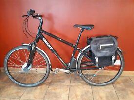 Giant Freedom CS Lite Electric E-Bike + Panniers