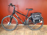Giant Freedom CS Lite Electric E-Bike + Panniers