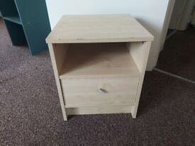 Pine Bedroom Side Table