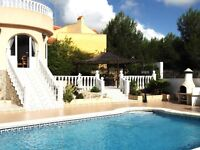 Lovely Villa Nr.Torrevieja, Costa Blanca. Sleeps 6. Private Pool - Air Con.