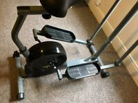 Opti Magnetic 2 in 1 Cross Trainer and Exercise Bike RRP £149 in Argos.