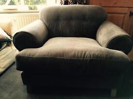 DFS Armchair Grey Like New