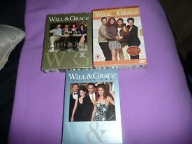 Will and Grace series 1,2,3,4,6 and 7
