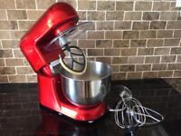 Andrew James Food Mixer - Red