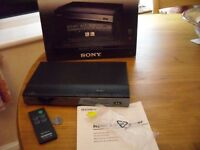 SONY SB-HD41R HDMI A/V SWITCHER with Remote/ Battery/ Plug /Instructions - original box
