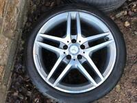 "GENUINE 18"" MERCEDES BENZ ALLOYS"
