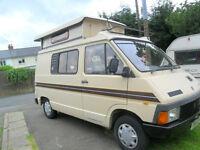 1987 renault campervan autosleeper pop up top 4 berth( only 59000 miles)