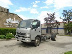 2012 Hino Silver Knight 195 Regular brakes,Automatic,18ft frame.