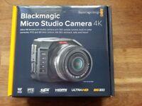 Blackmagic Micro Cinema Camera 4K - Mint Condition