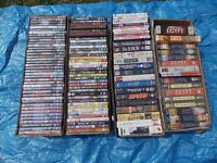 Over 100 DVDs And VIDEOs