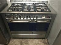 Baumatic range gas cooker and electric ovens 100cm