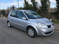 Renault scenic expression 1.5 diesel 5dr 97000 2008