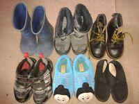 boys footwear size 9
