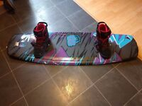 Liquid Force Harley Grind 139 Wakeboard with CWB Marius 8-9 Boots
