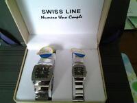Swiss Line Numero Uno Couple Quartz watches