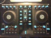 Traktor Kontrol S2 Mk1 (with software) DJ Decks and DJTT Custom Rucksack Case