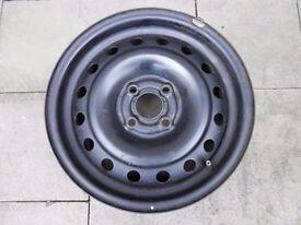 Steel wheel for tyre size 195/55/R15