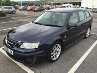 2006 SAAB 9-3 VECTOR SPORT ESTATE TID / NEW MOT / PX WELCOME / LEATHER / FULL HISTORY / WE DELIVER