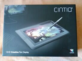 Wacom Cintiq 13 HD tablet for graphic design and illustration