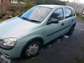 For Sale Vauxhall Corsa 51 plate