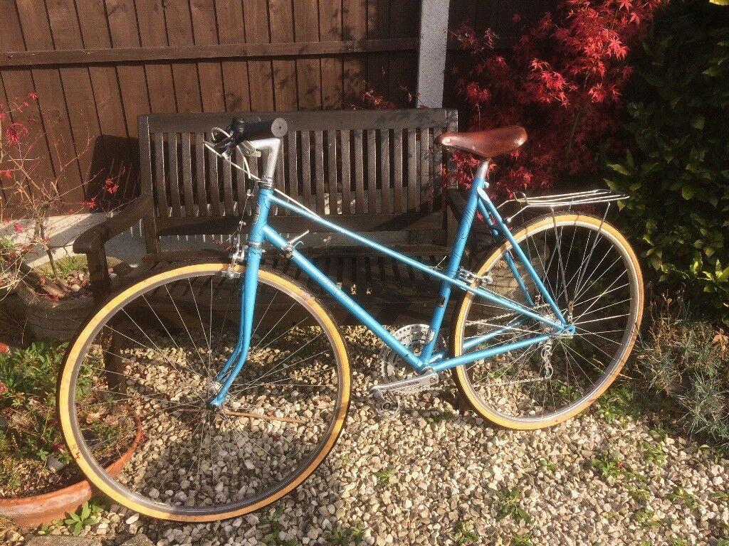 vintage ladies mixte frame town road racing racer reynolds 531 carlton courette bicycle bike 21 - Mixte Frame