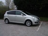 £4800 Toyota Corolla Verso 1.8 VVT-i SR 5dr