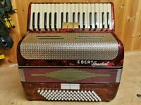 E Berg Special, 96 Bass, 2 Voice (LM), 34 Treble Keys, Piano Accordion. Lessons Available.