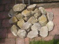 Load of rockery stones