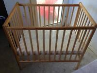 Baby Changing unit and cot