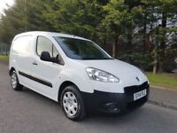 MARCH 2014 PEUGEOT PARTNER 1.6 HDI PROEFSSIONAL 625 L1 3SEATER PSV APRIL 2019 IMMACULATE CONDITION !