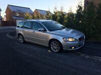 2009 Volvo V50 1.6D - DRIVe - SE LUX - NEW MOT & NEW SERVICE - SAT NAV - FULL LEATHER - £30 ROAD TAX