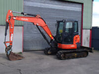 Digger in Northern Ireland | Plant & Tractor Equipment for