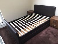Double bed with 4 drawers quick sale