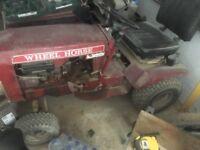 Wheelhorse tractor ride on mower