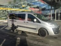 8 SEATER PCO REGISTERED PEOUGOT EXPERT LOW MILLAGE—£6990