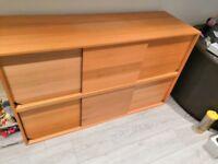 IKEA Oak veneer sideboard