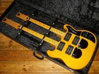 Shergold Custom Double 6/12 guitar natural